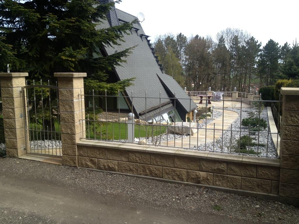 Metallbau Schmutzler Zäune und Tore aus Edelstahl Metallbau