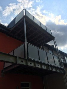 Balkone und Terrassen aus Stahl
