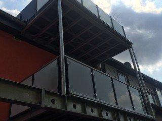 Balkone und Terassen aus Stahl