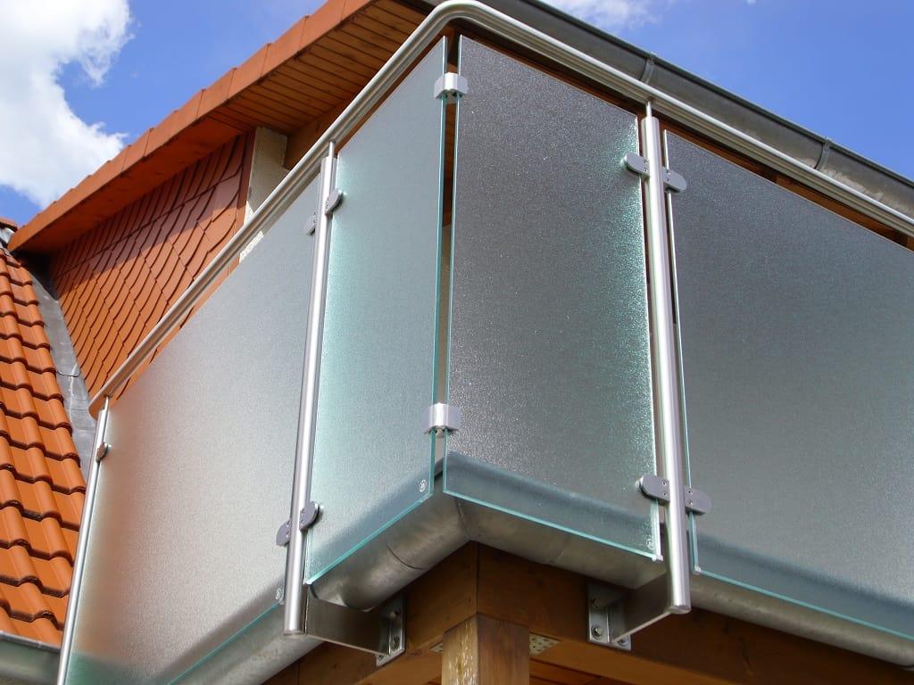 metallbau schmutzler balkongel nder aus edelstahl. Black Bedroom Furniture Sets. Home Design Ideas