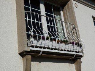 Französische Geländer aus Stahl