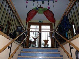 Geländer und Treppengeländer aus Stahl im Innenbereich